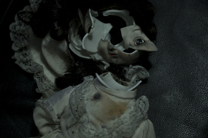 Sample of Broken Doll Prop