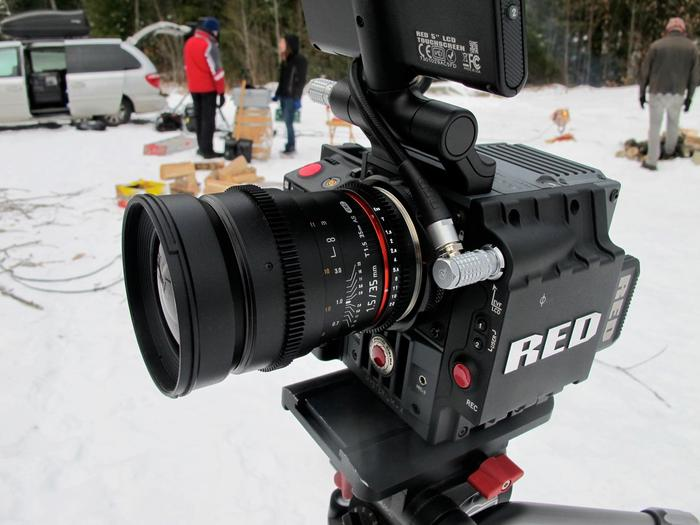 The RED Scarlet-X