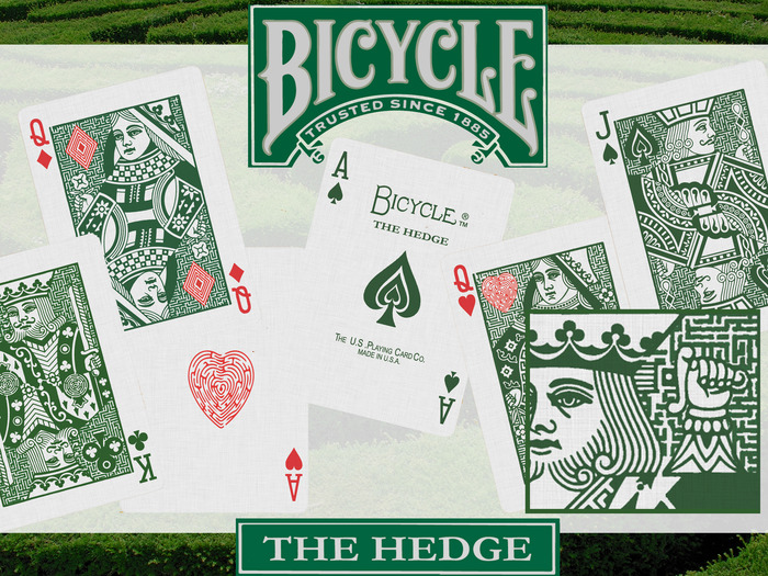 Bicycle-THE-HEDGE-Playing-Cards-by-The-Faro-Playing-Card-Company