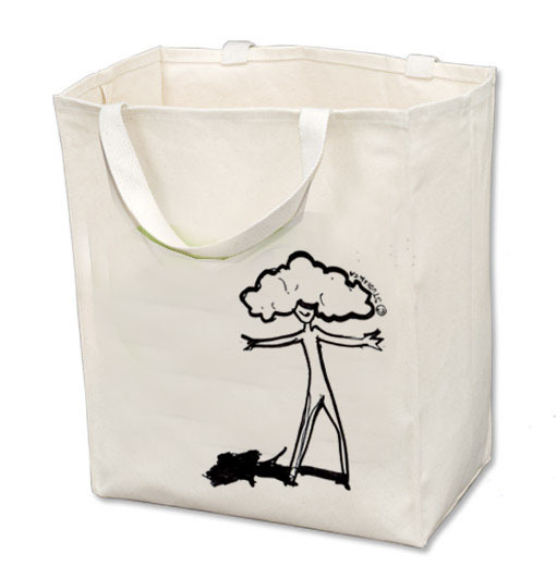 reusable organic Tote Bag