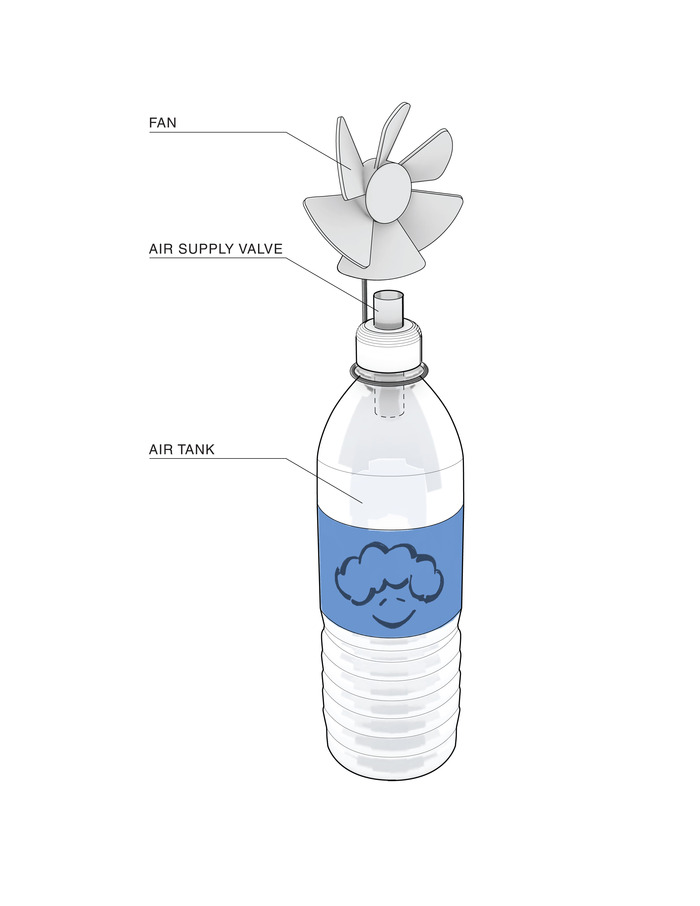 Bottle Fan Fan (for bottle fans!)