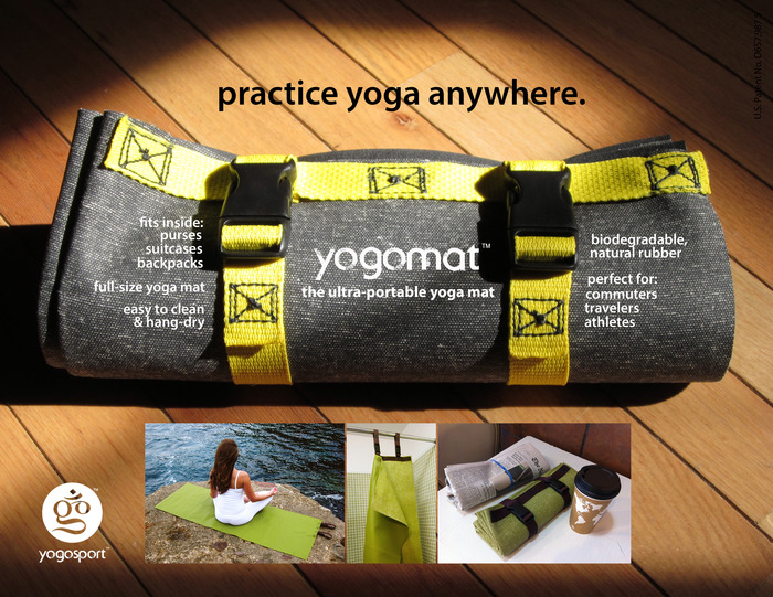Introducing the YogoMat: Take Yoga Anywhere  - image 1 - student project