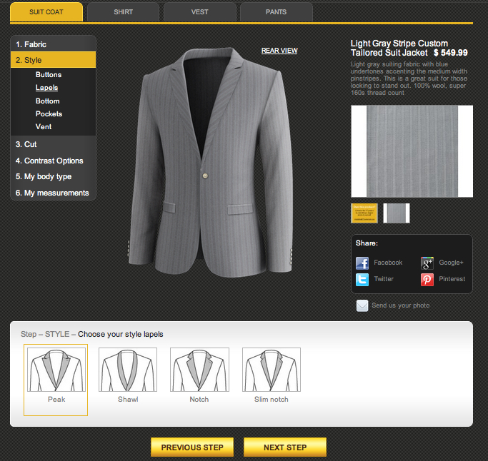 TS Virtual Tailor™