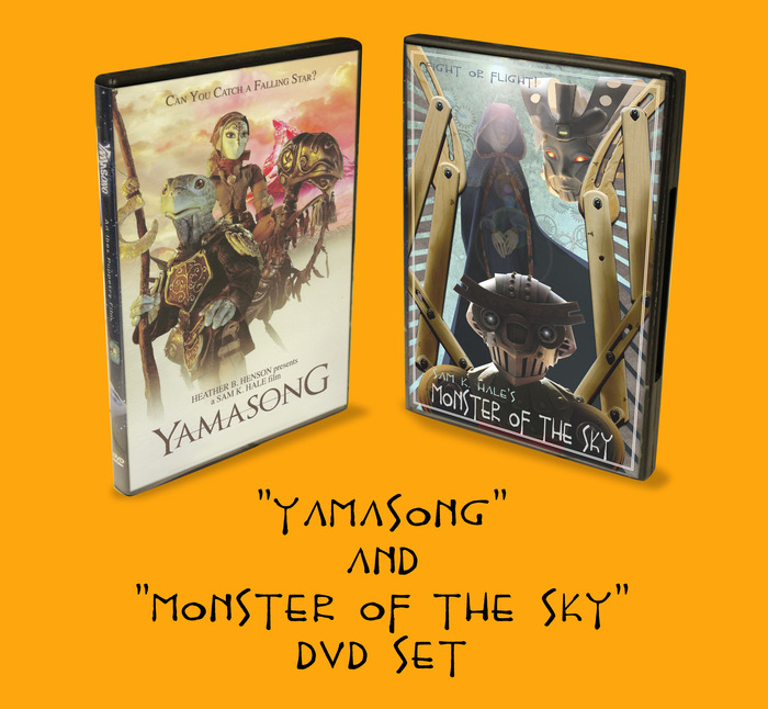 "DVD 2-pack includes ""Yamasong"" & ""Monster"""