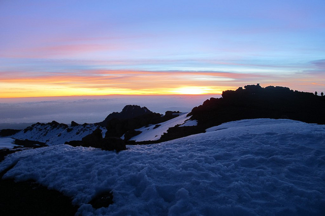 Sunrise over Mt. Kilimanjaro