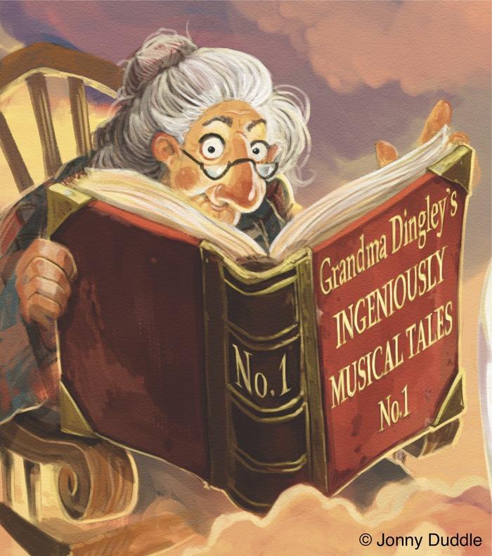 """""""Where am I?"""" Grandma Dingley (the Narrator)"""