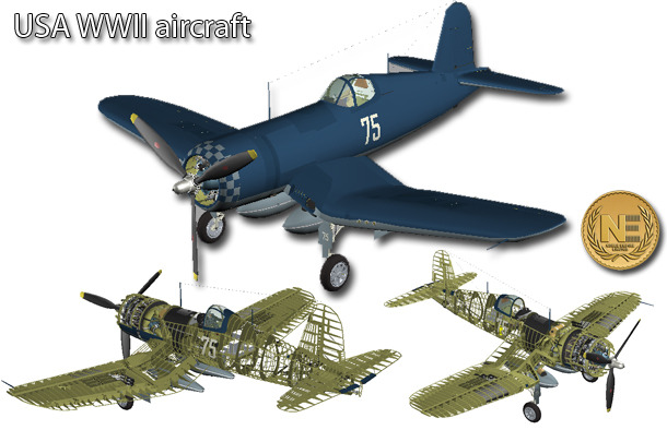 WWII carrier-capable aircraft