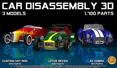 Car Disassembly 3D