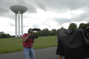 Production still, Water Tower location, 2010