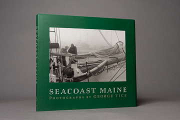 Seacoast Maine book, signed by George Tice