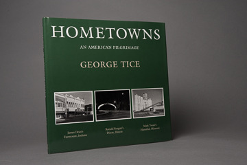 Hometowns book, signed by George Tice