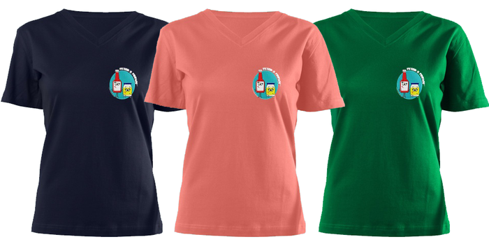 Woman's Tee's all colors