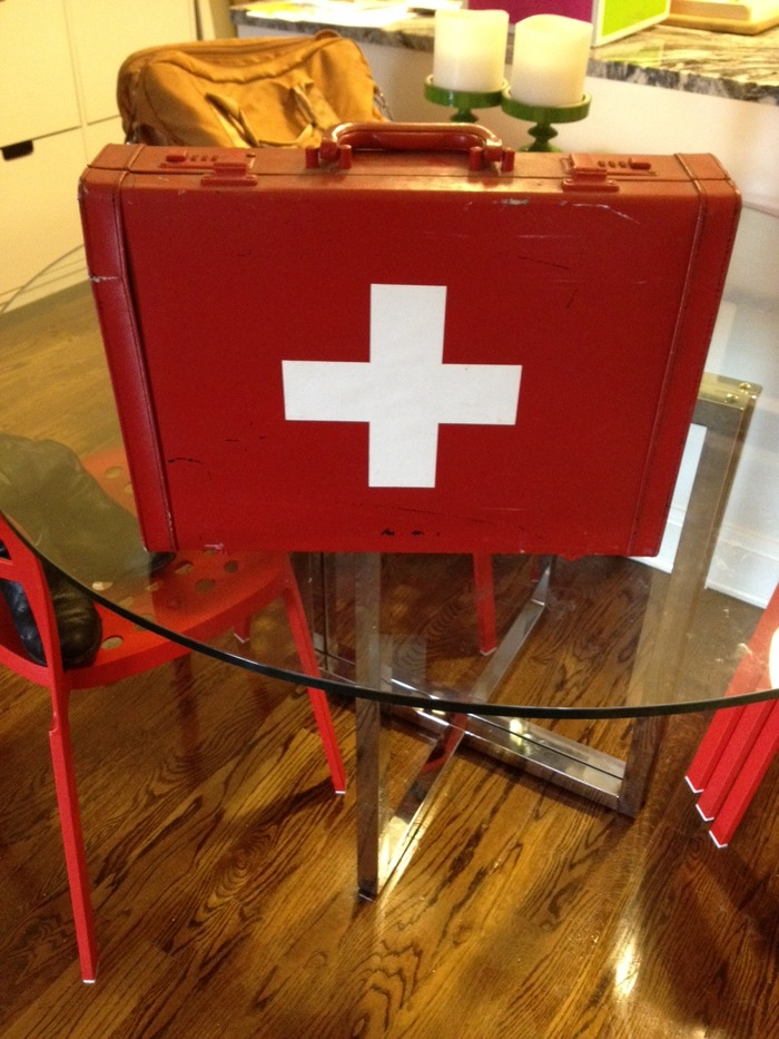"""Switzerland"" briefcase"