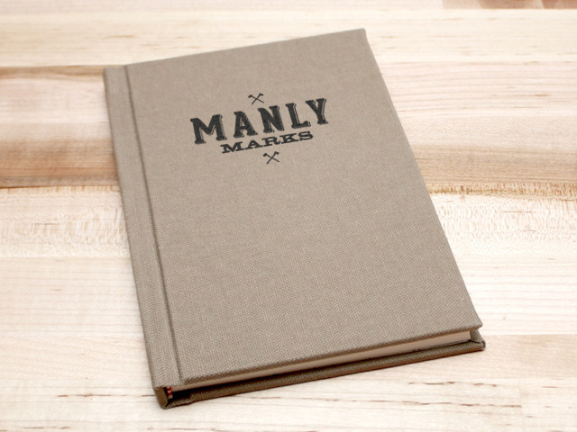 Manly Marks. A letterpress project.