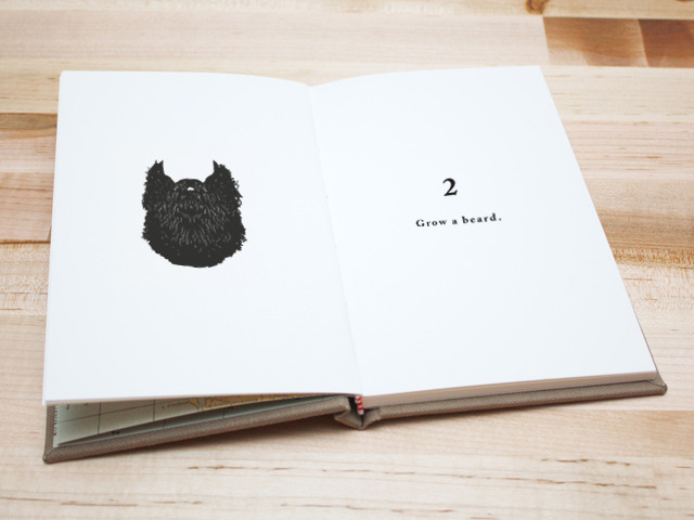 Mockup of the book interior