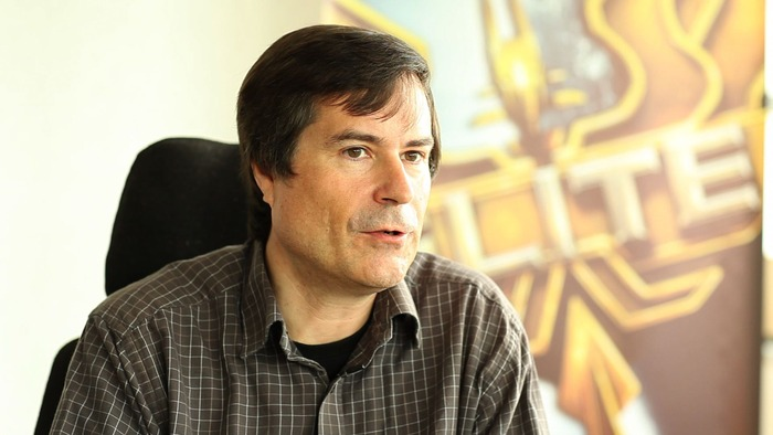 David Braben - Game Developer Elite
