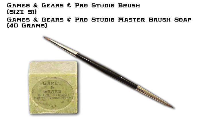 Pro Studio S1 Wet blending specialists & Also our Pro Studio Masters Brush Soap