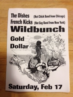 Wildbunch Flyer from 2000