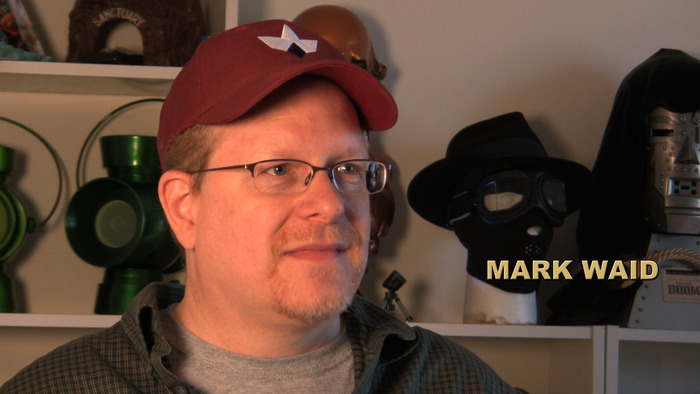 Writer MARK WAID (KINGDOME COME, SUPERMAN: BIRTHRIGHT)