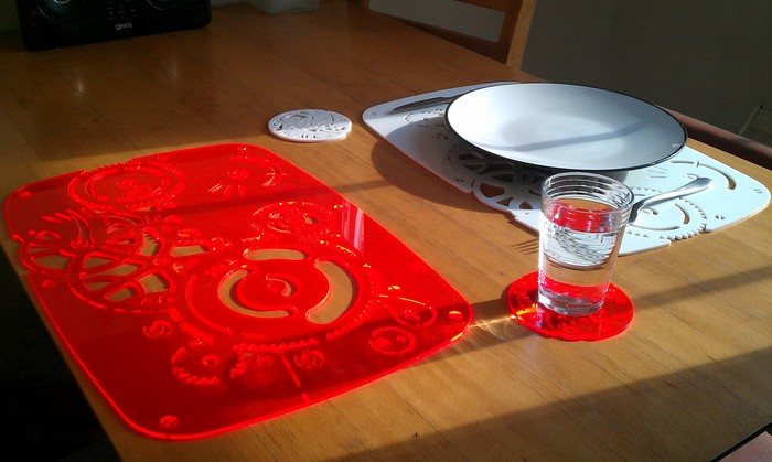 TIK placemats and coasters