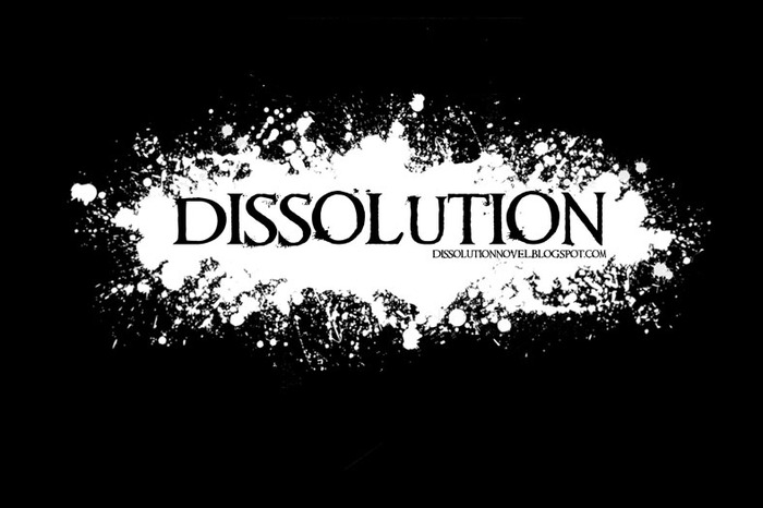 Dissolution Splatter Logo Design for Merchandise Rewards