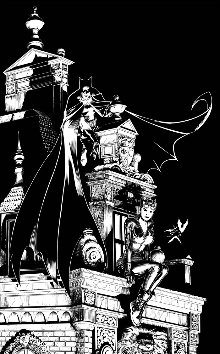 Barry Kitson (Batman and Catwoman)