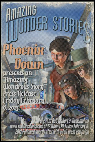 """Steam Punk"" Inspired Phoenix Down poster"