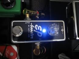 The EP Booster on my pedal board One of you will receive this and 9 others will receive an EP Booster as well