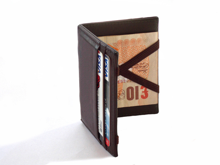 Elegant, super-thin wallet