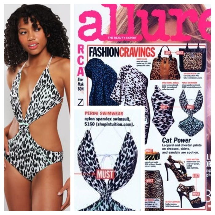Perini Swimwear in Allure Magazine