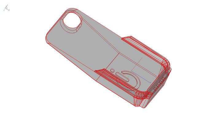 Modeling Infinity Cell Form for iPhone 4/4S
