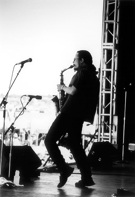 Thomas Chapin Trio at the JVC Newport Jazz Festival 1995