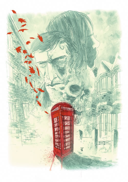 Print of this poster painted for us by the legendary Ben Templesmith available as a reward