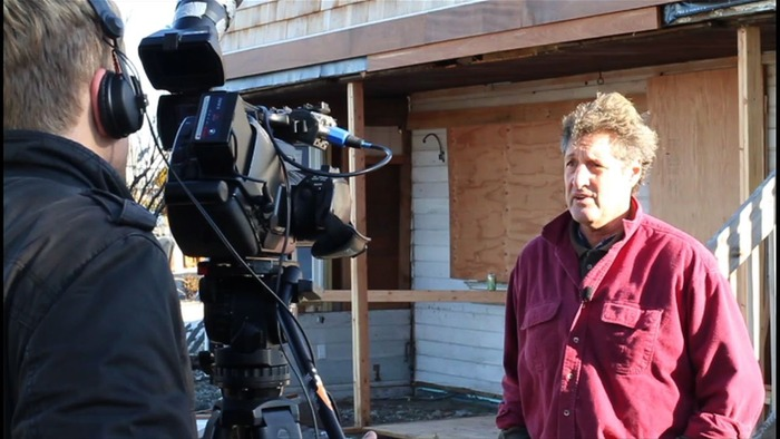 Jim Purpuri's home was destroyed by Sandy