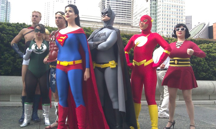 Gender-Bent Justice League at WonderCon 2011