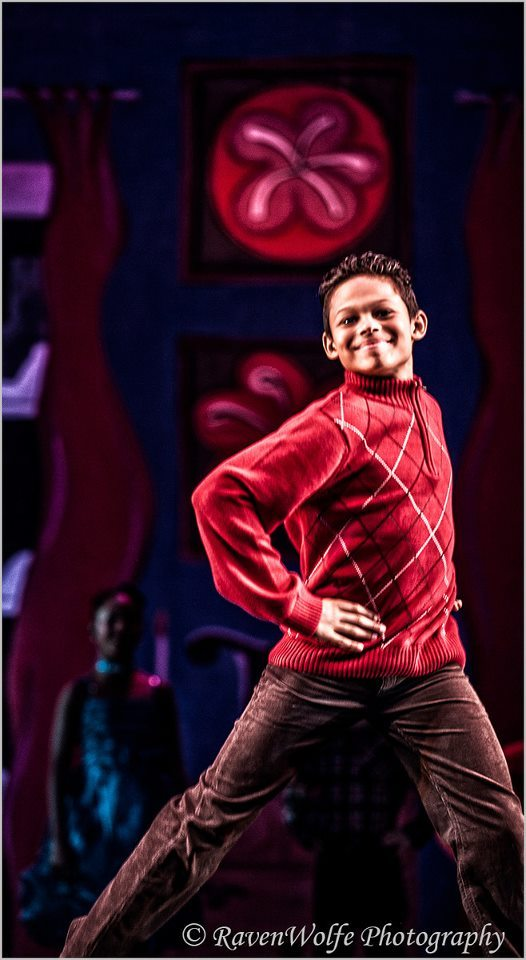 Company Member, Johnny, performing the lead role of Omar in Urban Nutcracker