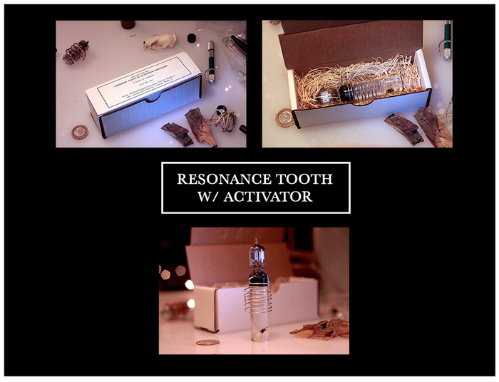 BEZRODNYM RESONANCE TOOTH W/ ACTIVATOR CONTAINER (click for more detail)