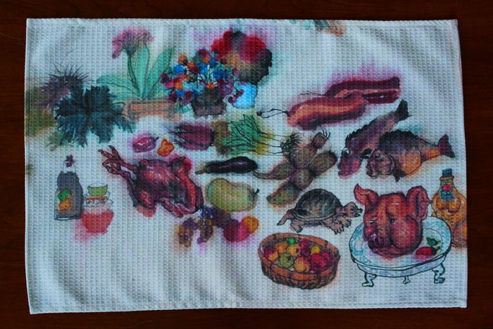 Li Jin Banquet Kitchen Towel (Photo copyright ©2012 Britta Erickson)