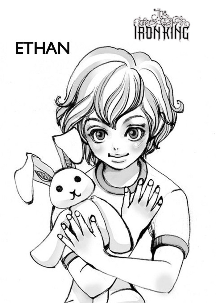 Ethan - character design