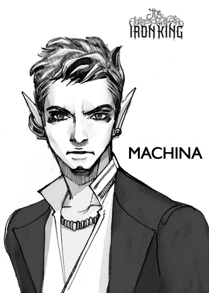 Machina - character design