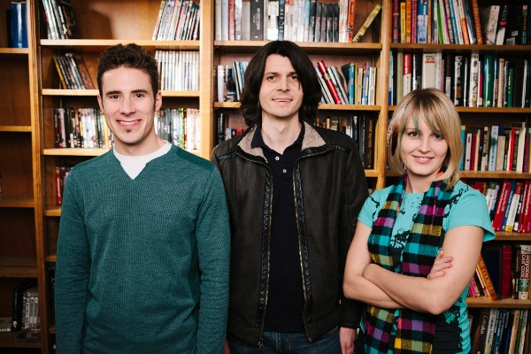 The Conifer Games team: Jon, Jonathan and Kay (from left to right).