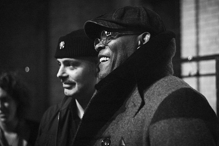 Sam Jackson backstage at the Klaxon Howl F/W11 show in Toronto Fashion week. photo credit: Kevin Bryan
