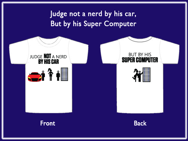 The nerd with the hot car loses out to the super computer nerd