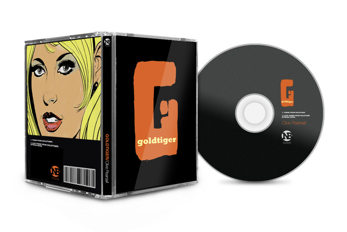 Deluxe, limited edition CD of the Goldtiger theme tune, composed, arranged, performed and produced by Clive Pearsall especially for this Kickstarter edition.