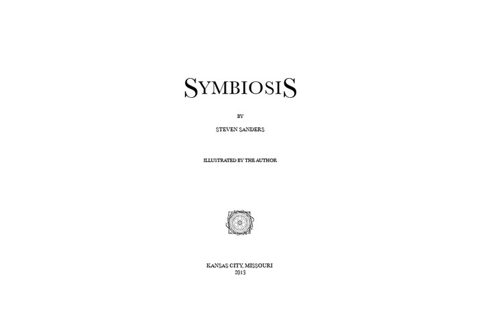 Symbiosis frontispiece - Click for more detail.