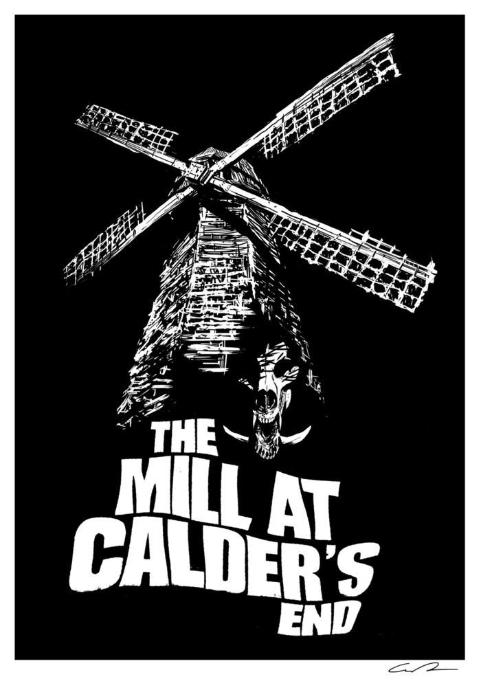THE MILL AT CALDER'S T-SHIRT (Designed by Guy Davis) available as a Kickstarter reward.