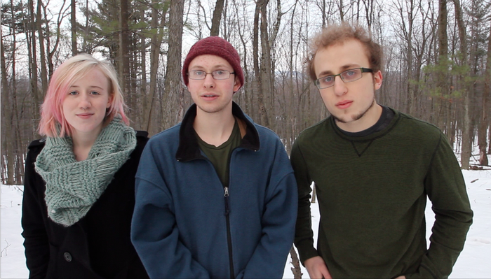 From left to right (Rebecca Billings, Adam Monzella, Jacob Wise)