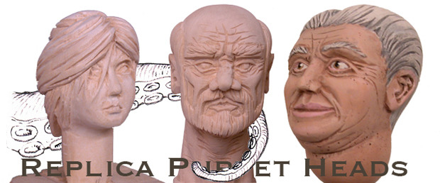 High quality replica heads from the production fully painted. Pledge $150
