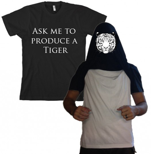 Ask me to Produce a Tiger T-Shirt