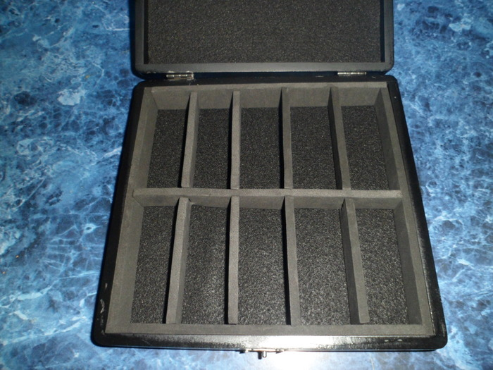 The carrying case has foam and felt interior to protect the doppelganger and other figures.